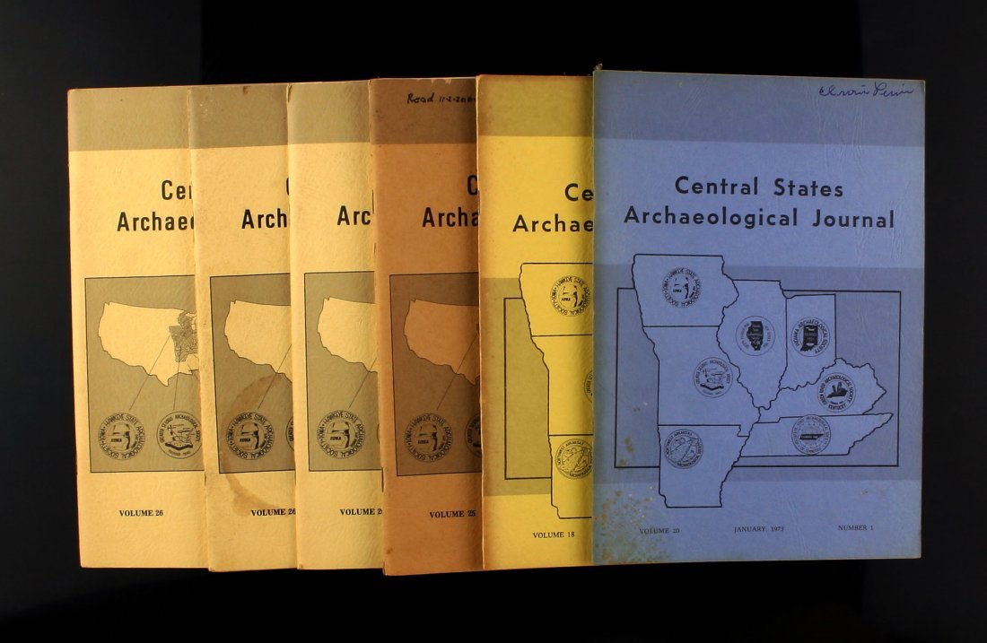6 1970's Central States Journals