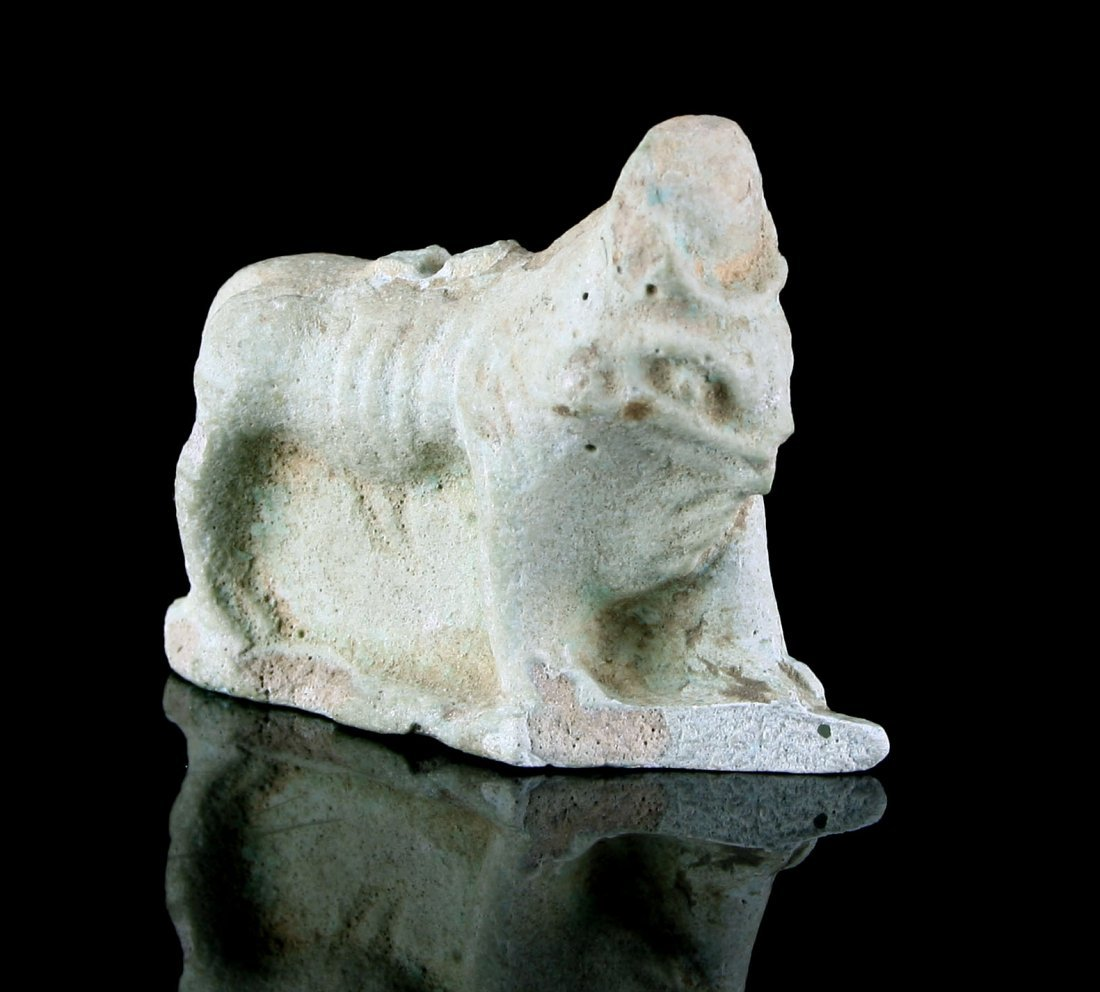 45mm Egyptian Faience of Khnum - 4