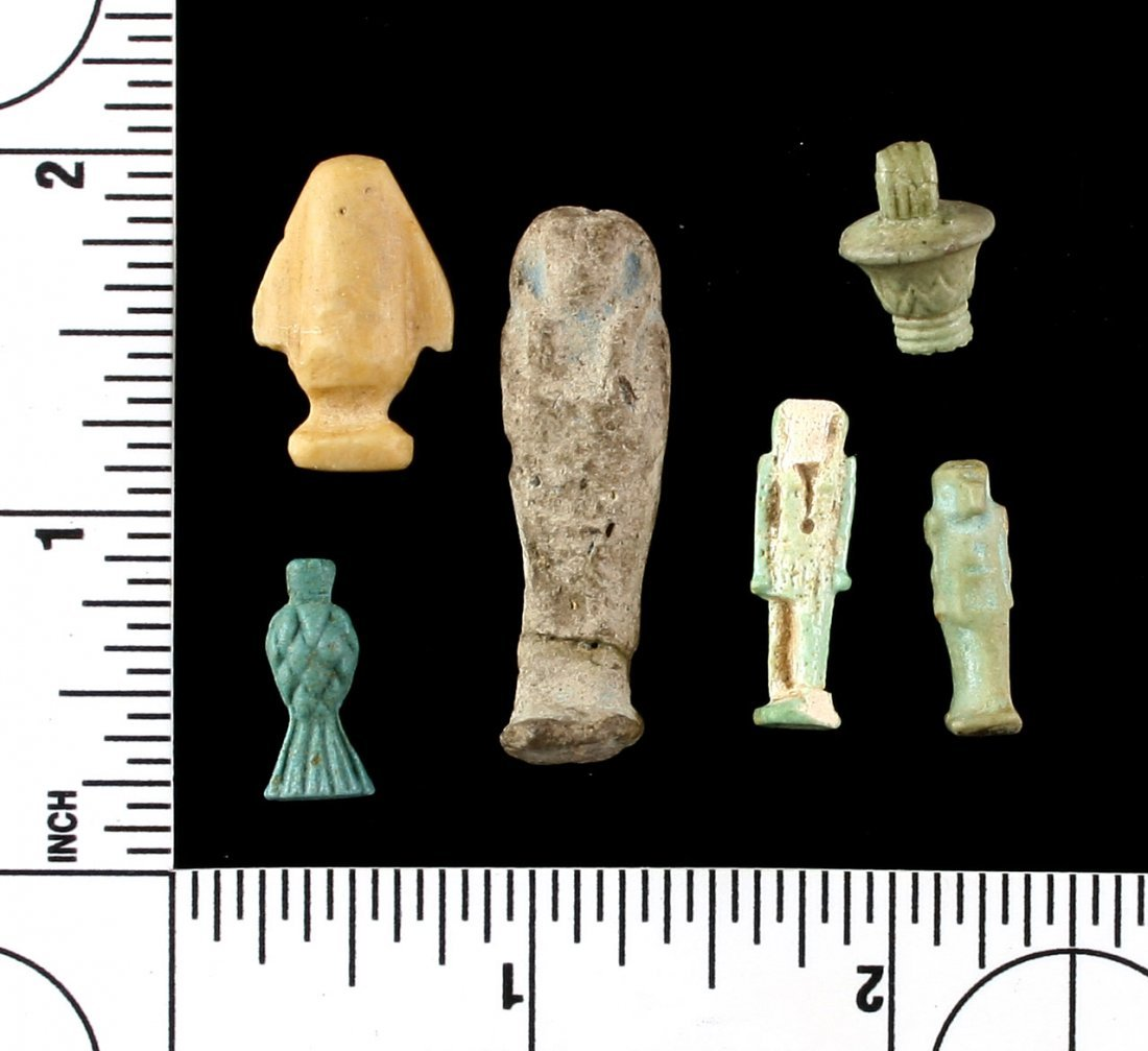 6 Small Egyptian Artifacts