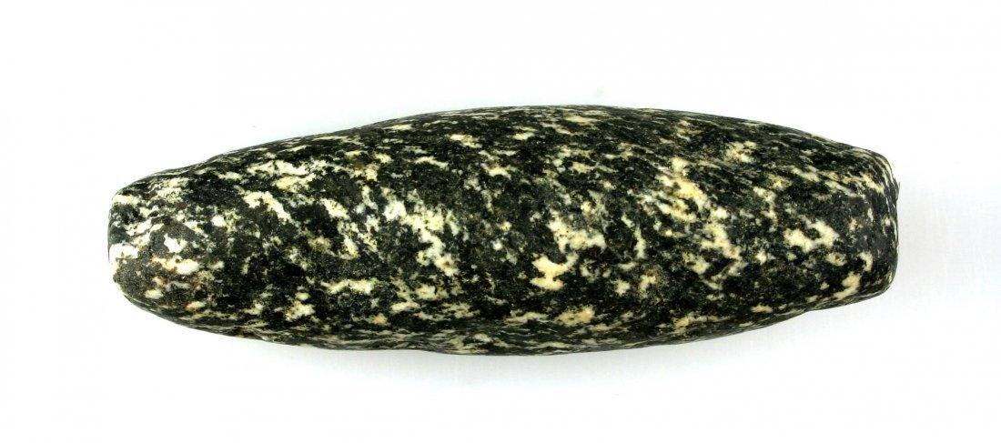 "3 3/8"" Neolithic Stone Bead"