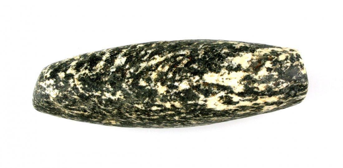 "3 3/8"" Neolithic Stone Bead - 2"