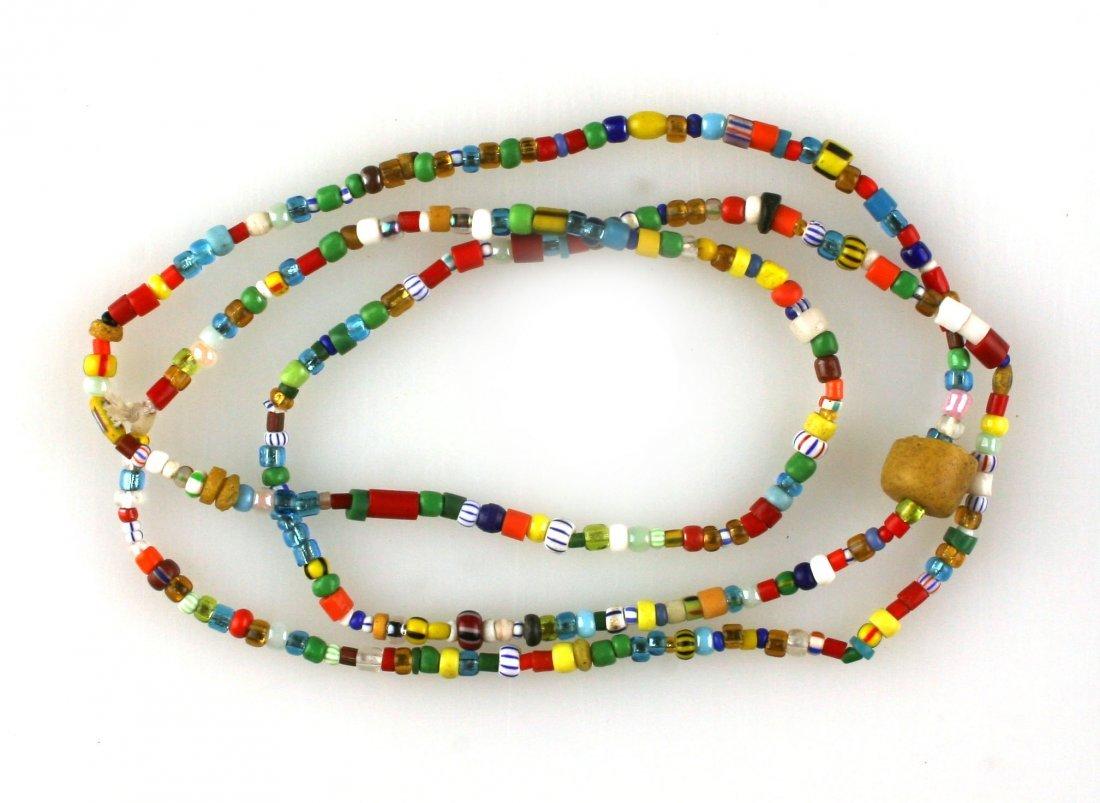 "35"" Trade Bead Necklace"