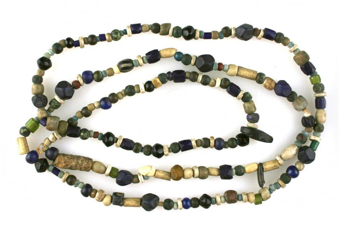 "50"" Strand of California Trade Beads"