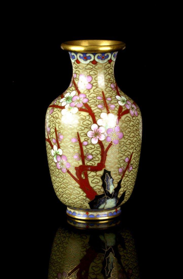 "5"" Cloisonne Vase"