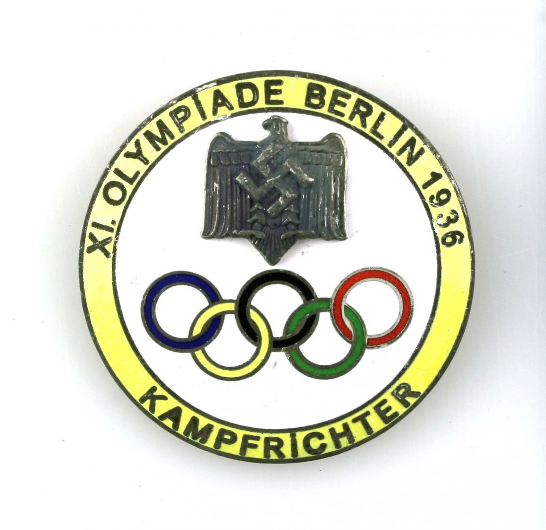 1936 Berlin Olympics Judge's Badge.