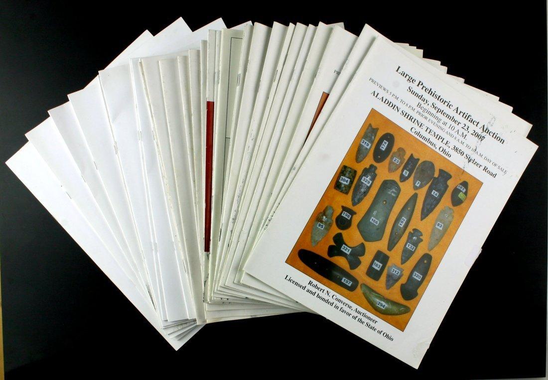 31 Converse Auction Catalogs