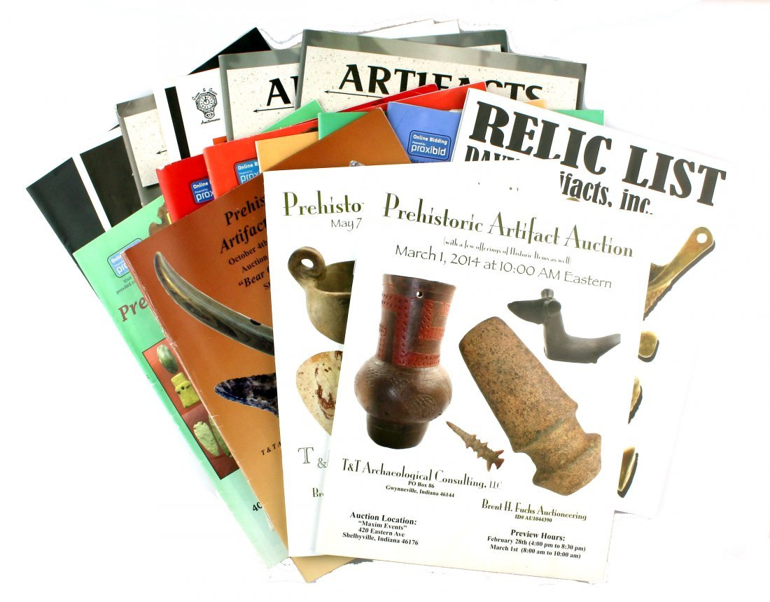 16 Artifact Sales and Auction Catalogs