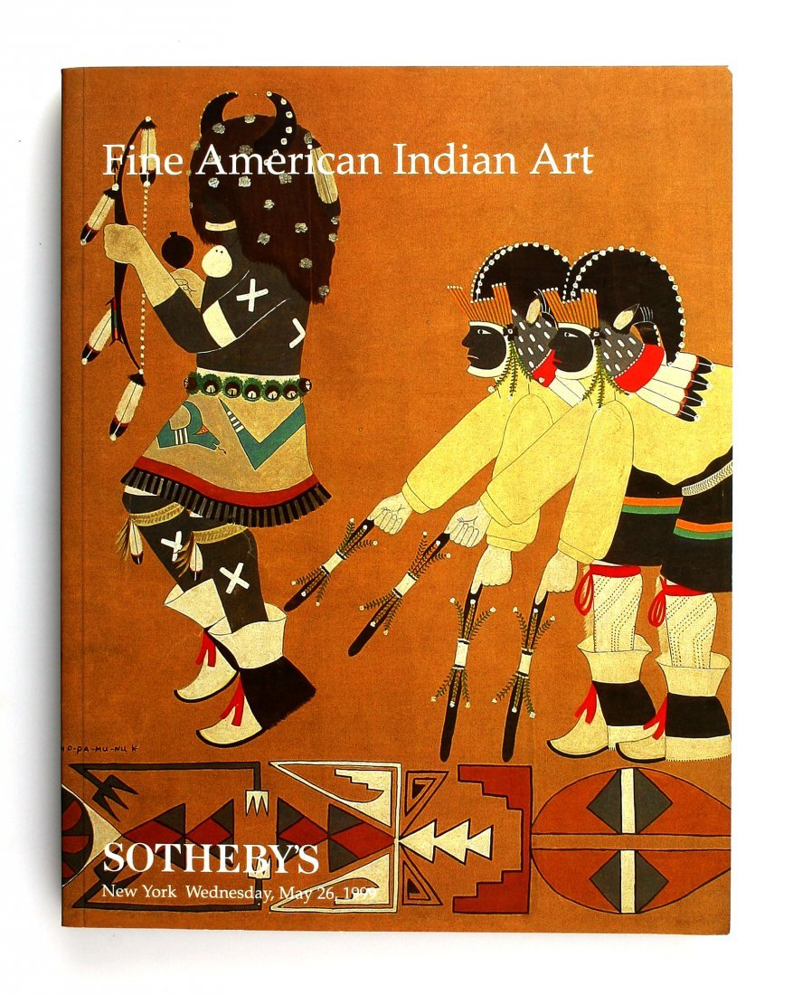 199 Sotheby's Catalog Fine American Indian Art
