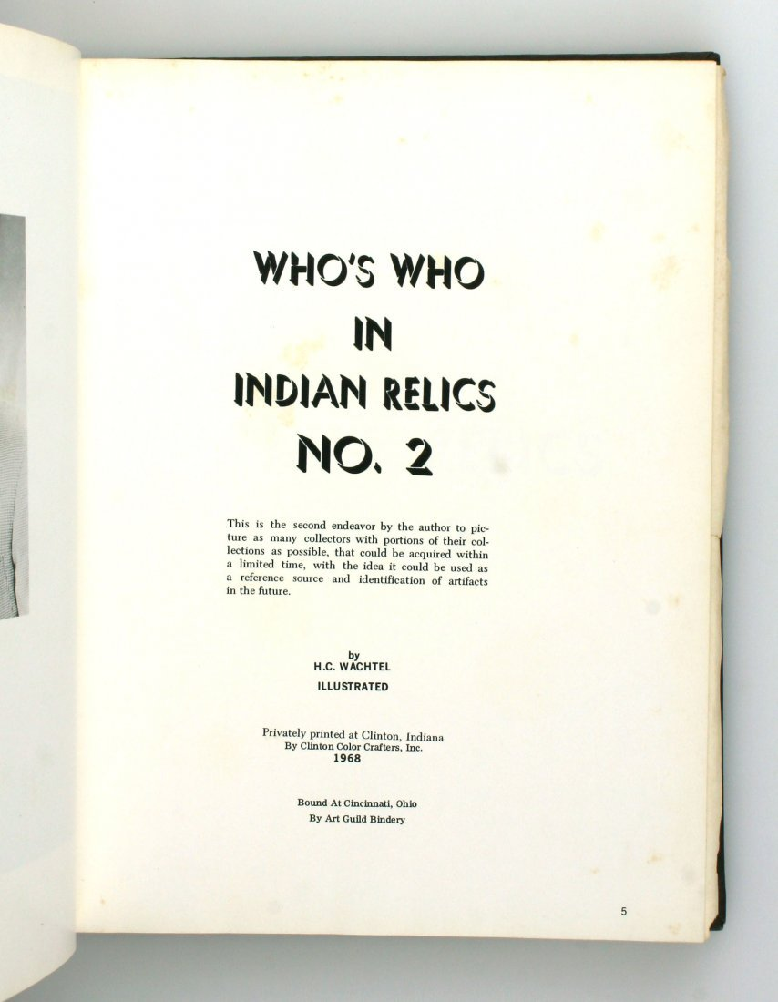 Who's Who in Indian Relics #2 - 2