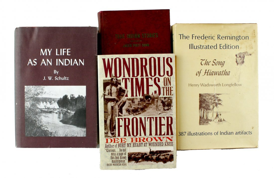 4 Native American Theme Books