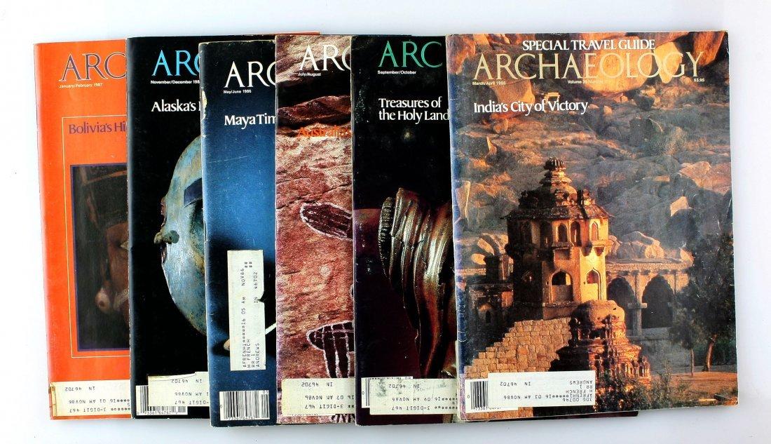6 Archaeology Magazines