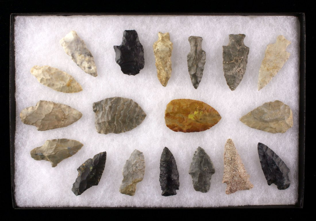 Display of 18 Nice Indiana Points