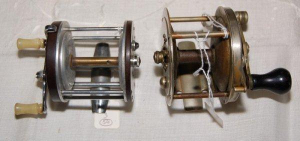 3: Sears Roebuck & Co. Free Spool nickel silver reel.