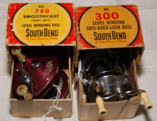 6: 780 Smooth Cast South Bend Reel and #300 Anti back l