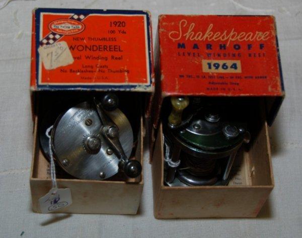 10: shakespeare 1920 Wondereel (new thumbless) and Shak
