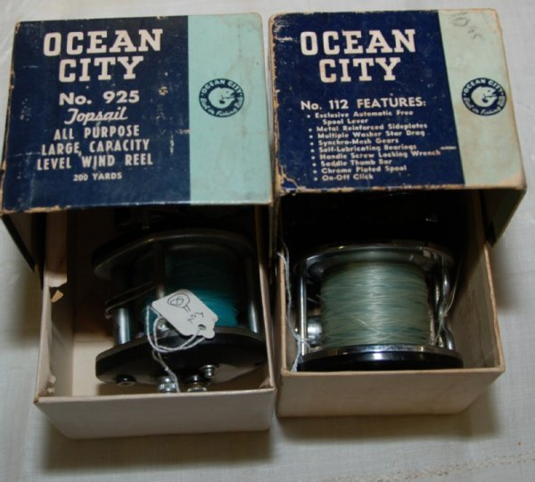 11: Ocean City boxed 925 Top Sail, Large Capacity Reel