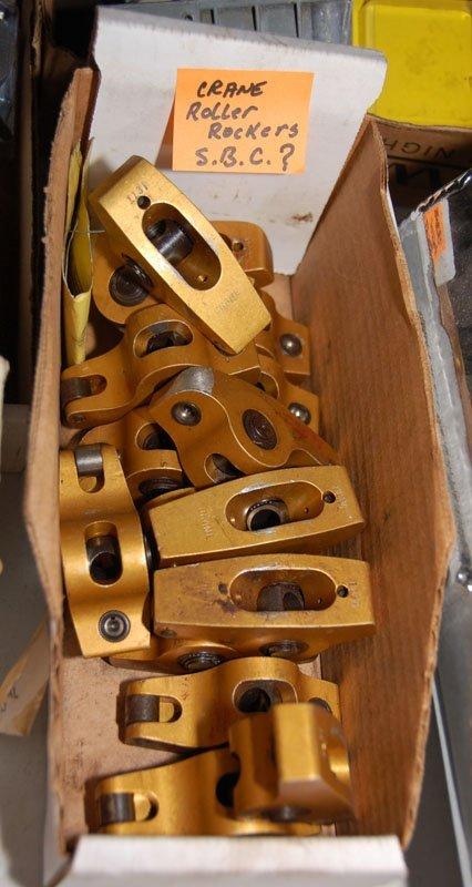 Box of CRANE Roller Rockers (SBC?)