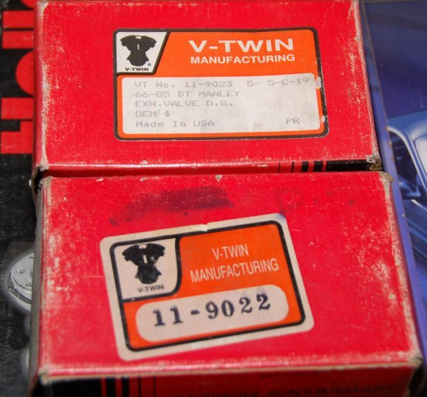 Lot of 2 V-Twin Manley Performance products in box: 990