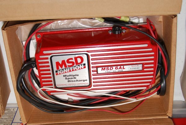 MSD (Multiple Spark Discharge) ignition, Part no. 6420