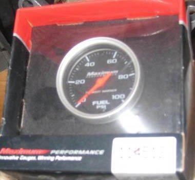 """Stewart Warner  2 1/6"""" Mechanical fuel pressure gauge"""
