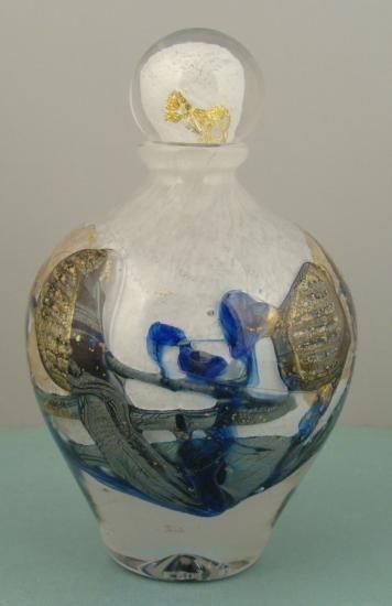 Novaro Signed Original French Art Glass Sculpture