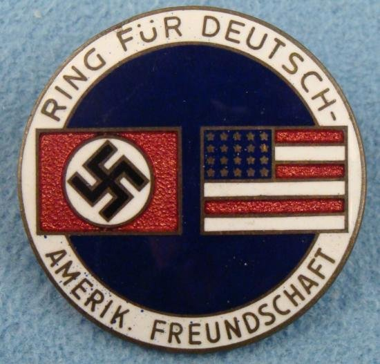 NAZI BADGE TO PROLIFERATE FRIENDSHIP IN FOREIGN LANDS