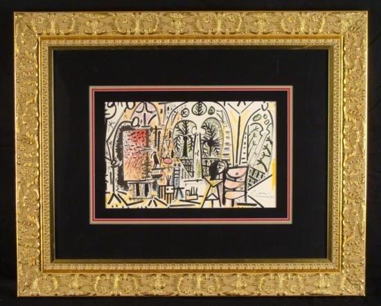 Pablo Picasso Signed Ltd Ed Print Cercle d Arts Paris
