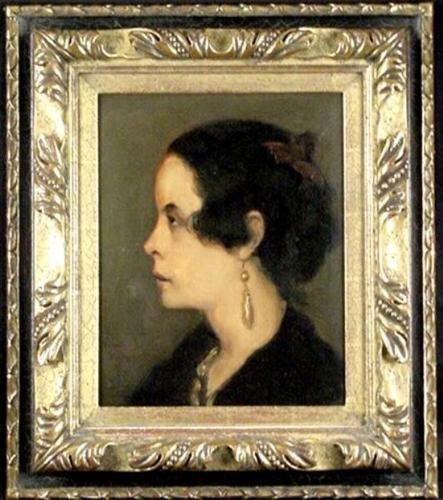 Emile Bernard Original 1890 Signed Painting Cloisonnism