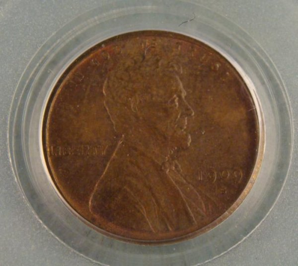 1909 S VDB Wheat Penny 1 Cent MS63 BN PCGS CAC Approved - 2