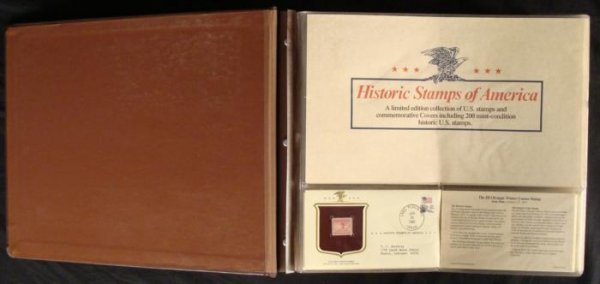 Historic Stamps of America First Day Covers Book