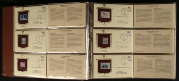 Historic Stamps of America First Day Covers Book - 2