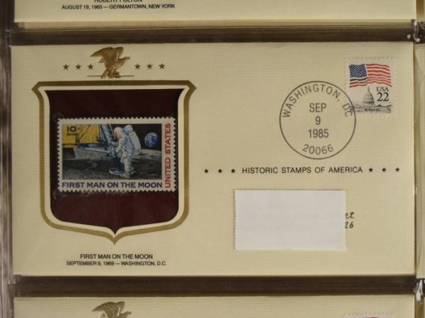 Historic Stamps of America First Day Covers Book - 3
