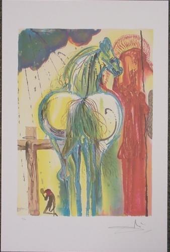 After Dali LE CENTURION Numbered Ltd Ed Art Print