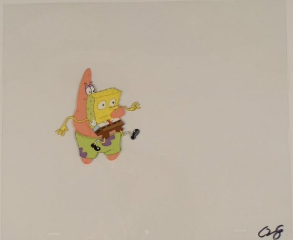 Art Cel Spongebob Production I Have You Original