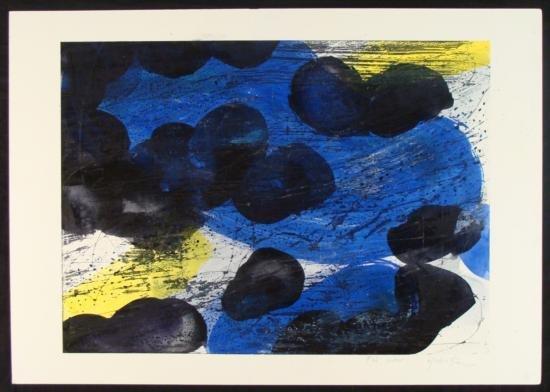Yoshie Kanno Original Water Color Wax On Board #2