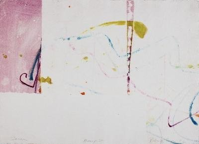 Signed 1982 Royce Dance Mixed Media