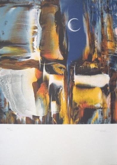 Signed Nierman Untitled Lithograph