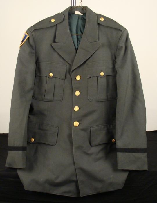 Korean War Army Enlisted Mans Uniform Jacket w/ Patch