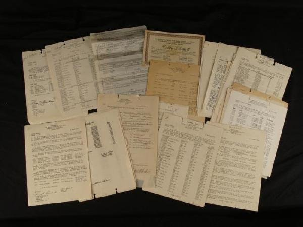 GROUPING OF 27TH STRATEGIC FIGHTER WING (SAC) PAPERWORK