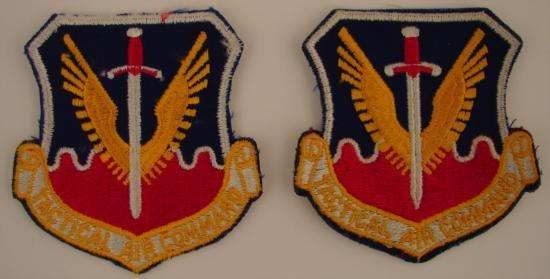 2 Piece Lot Vietnam USAF Tactical Air Command Patches