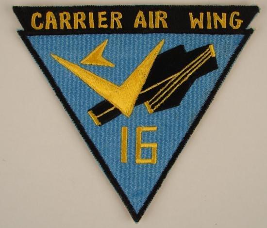 Vietnam Era Navy Carrier Air Wing 16 US Made PATCH