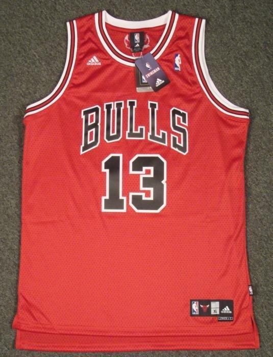 Chicago Bulls Joakim Noah NBA Game Jersey XL+2