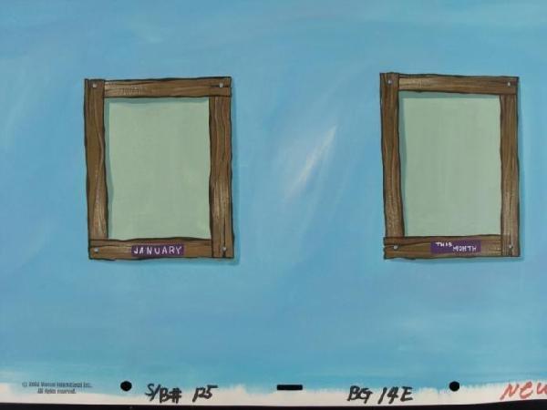 2 SpongeBob Orig Employee...Month Animation Backgrounds - 3
