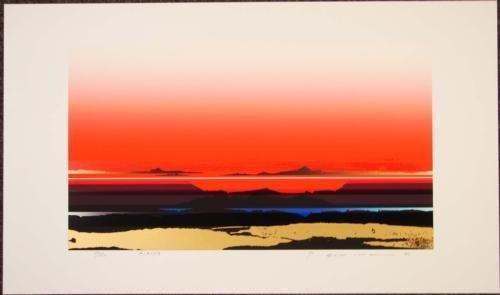 RISING Tetsuro Sawada Skyscape Signed LE Art Print
