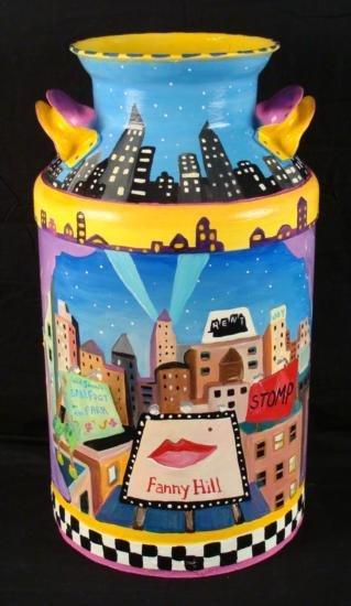 Linnea Pergola Original Milk Can 42nd Street New York