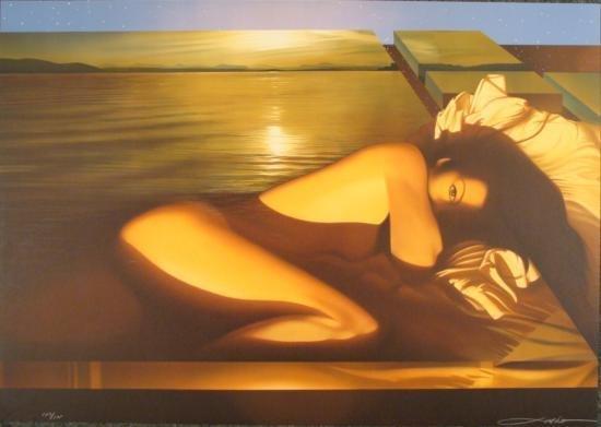 Seductive Inviting Nude Licsko SPELLBOUND Art Print