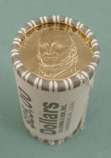 1 Wrapped Roll of 2008 D John Quincy Adams Pres Dollars
