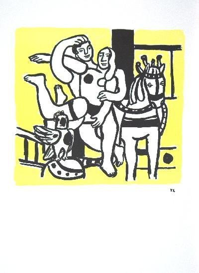 Leger Le Jeu (The game) Poster