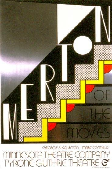 1968 Lichtenstein Merton Of The Movies Foil Print