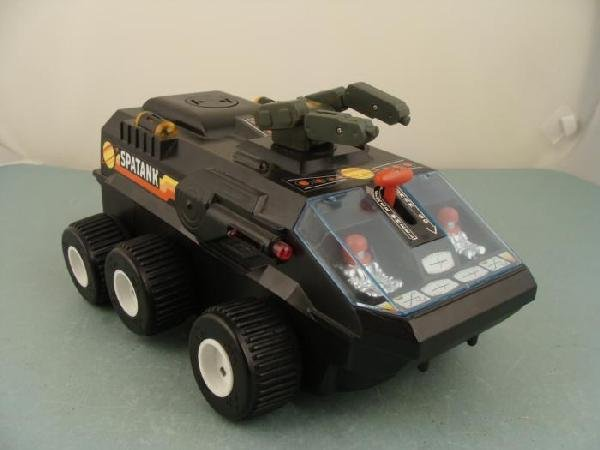 Spatank Chrin Fong Vintage Space Toy Electric Truck
